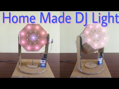 How to make DJ LIGHT ,Moving  light