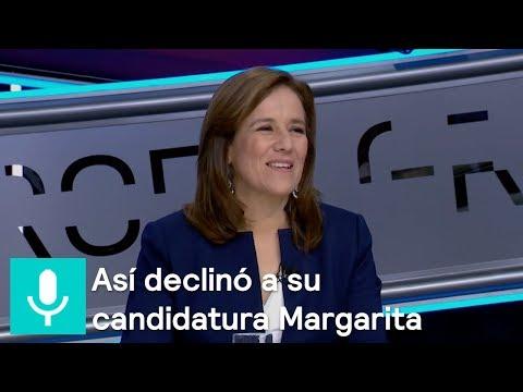 Así declinó a su candidatura Margarita - Tercer Grado