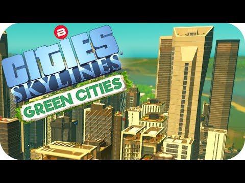 """Cities: Skylines Green Cities ▶HIGH TECH """"I-TEA"""" INDUSTRY!!!◀ Cities Skylines Green City DLC Part 9"""