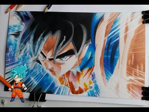 Como Pintar A Goku Ultra Instinto Paso A Paso Extremohow To Paint