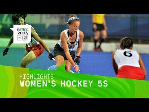 Women's Hockey5s Bronze Medal Match - Highlights | Nanjing 2014 Youth Olympic Games