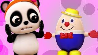 Шалтай-Болтай сидел на стене | детские рифмы для детей | детская песня в россии | Humpty Dumpty