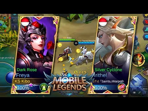 PLAYING WITH TOP 1 RANKED IN THE WORLD 「Saints」Warpαth !! - Mobile Legends: Bang Bang!