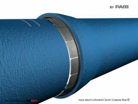UNIVERSAL VI joint disassembly DN 80-600 on ductile iron pipe - Saint-Gobain PAM