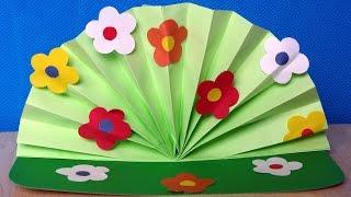 Весна пришла! Поделки к 8 марта. Аппликации из цветной бумаги своими руками.(В этом видео показано, как сделать поделку на 8 марта из цветной бумаги своими руками. Объемная аппликация..., 2016-02-20T08:47:52.000Z)