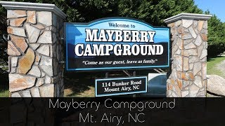 Mayberry Campground - Mt Airy NC