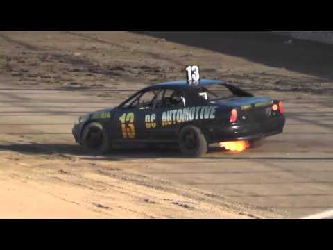 Modified Tassie Title Heat 1 Latrobe Speedway 27/2/16