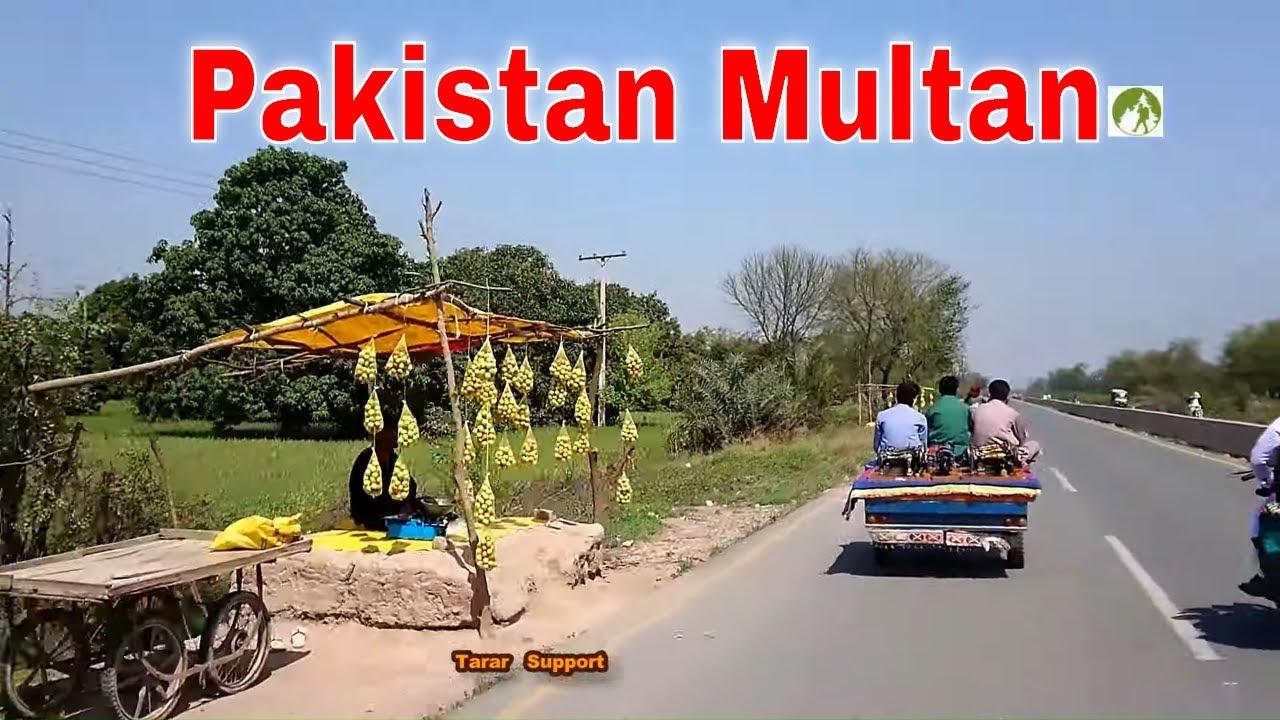 Pakistan Travel Muzaffargarh To Multan Road Trip