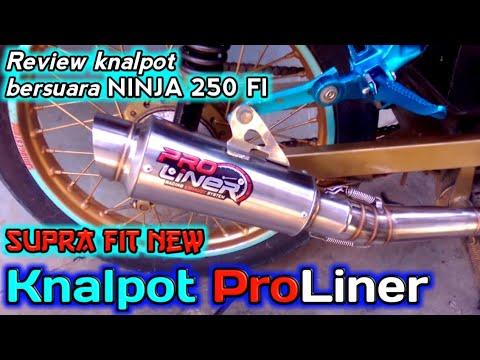 Review Knalpot ProLiner kw || di Supra fit new