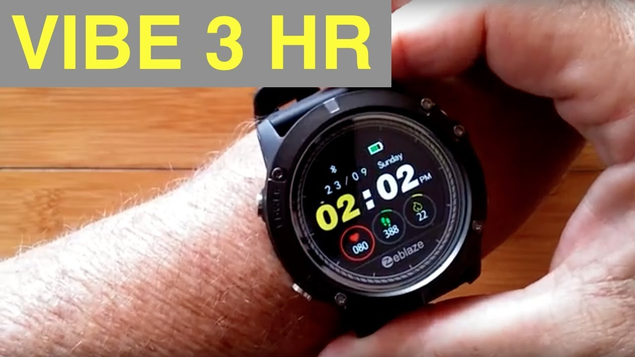 Zeblaze Vibe 3 Hr Ip67 5atm Waterproof Multi Sport Color Screen Smart Watch Unboxing And 1st Look