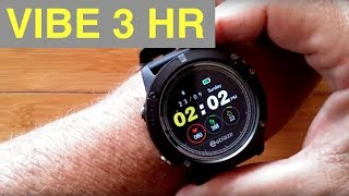 29af2ec6748 ZEBLAZE VIBE 3 HR IP67 5ATM Waterproof Multi Sport Color Screen Smart Watch   Unboxing and