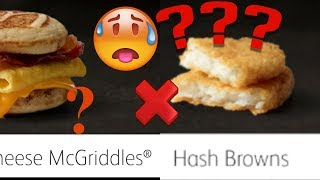 mcdonald's hash browns review
