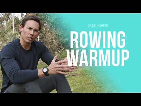 Rowing Machine Warm up VS. Warm up on the Rower