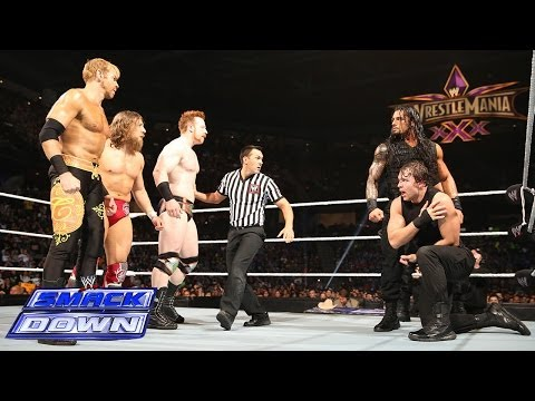 Daniel Bryan, Sheamus & Christian vs. The Shield: SmackDown, Feb. 14, 2014