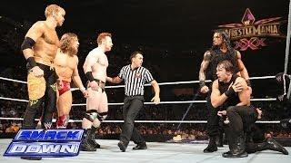 Daniel Bryan, Sheamus & Christian vs. The Shield: SmackDown, Feb. 14, 2014