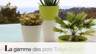 Grosfillex : les pots TOKYO