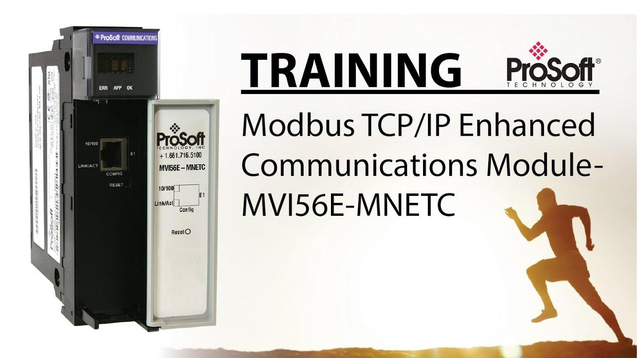 Set Up: Modbus TCP/IP Multi Client/Server Enhanced Network Interface Module  for ControlLogix