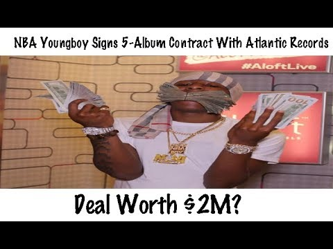 NBA Youngboy Signs 5-Album Contract Worth $2 Million With Atlantic Records?