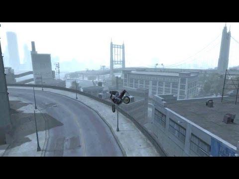 GTA 4 - AMAZING Bike Stunts 1