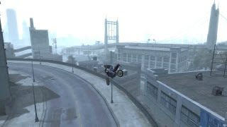 GTA 4 - AMAZING Bike Stunts 1