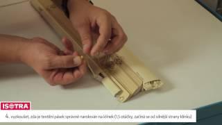 Isotra video návod jak opravit křivý chod žaluzie