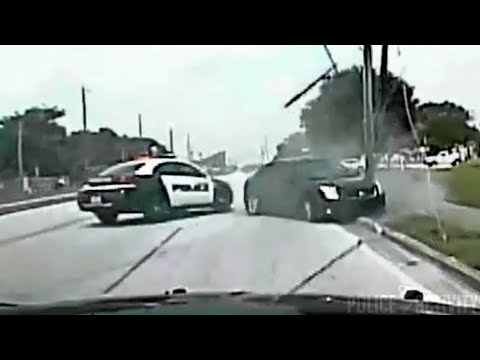 Wild Police Chase Of Robbery Suspect Ends With PIT Maneuver