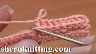How to Back Post Double Crochet BPdc Tutorial 36