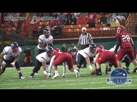 Highlights HHSAA Open Division Football Saint Louis vs Kahuku
