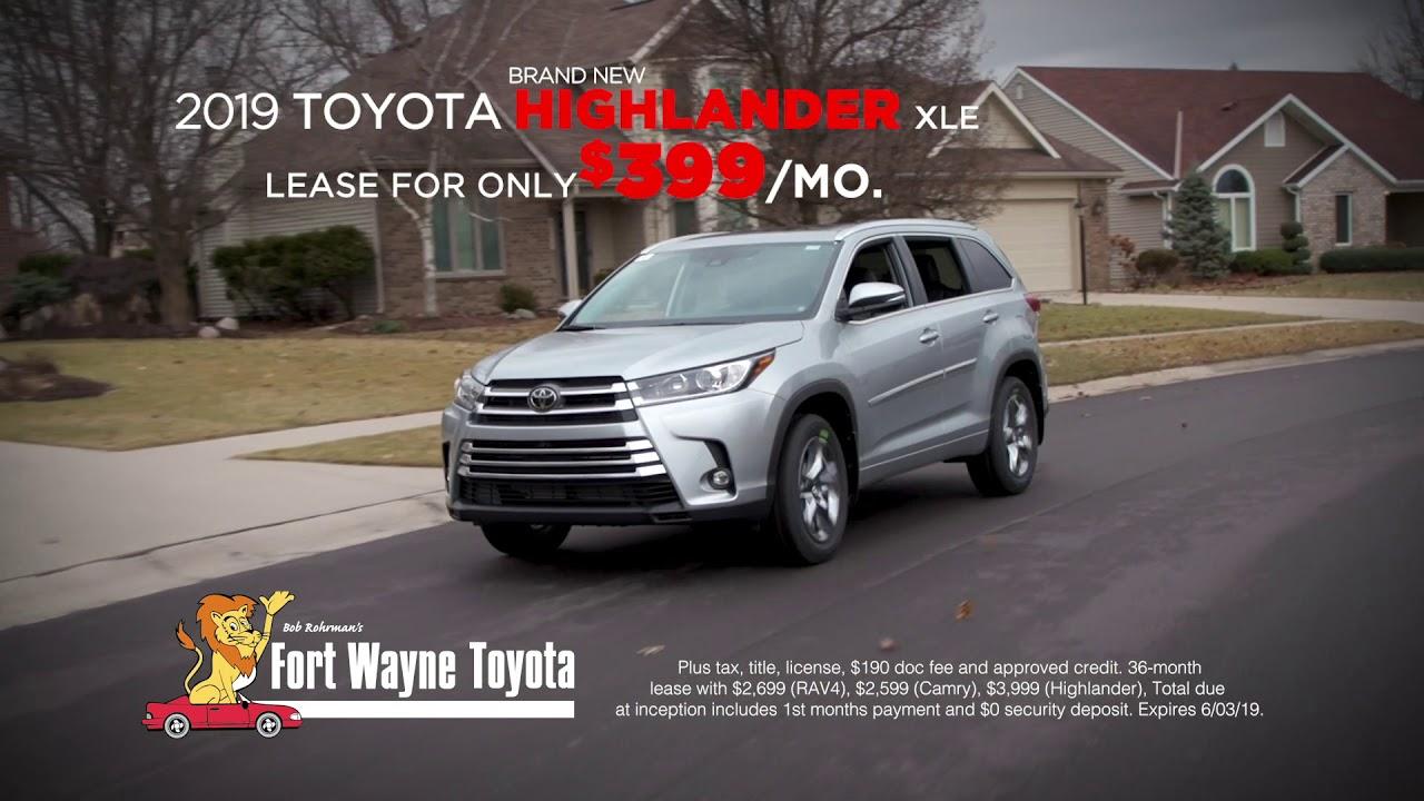 Fort Wayne Toyota >> Fort Wayne Toyota May 2019