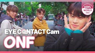 [4K] ONF EYE CONTACT CAM :: 온앤오프 아이컨택캠 (191108 MUSIC BANK)