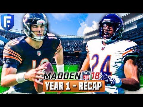 Madden 18 Bears Franchise Year 1 Recap & Draft Prospect Preview | Ep.18