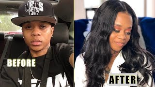 TRANSFORMING FROM MASCULINE TO FEMININE!!! ( LEELEE & GRAMZ 2K19)