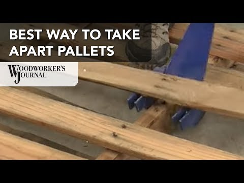 Best Tool for Salvaging Pallet Wood
