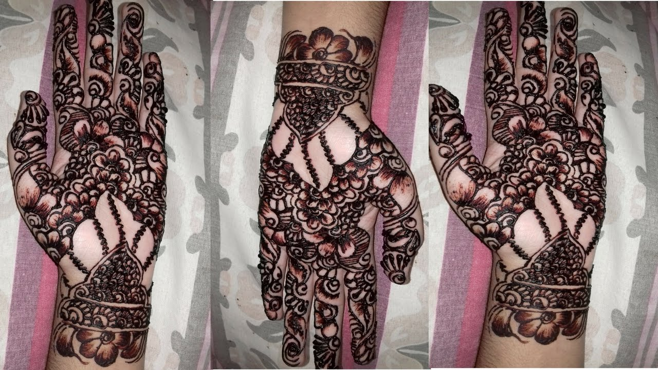 Latest mehndi designs 2016 2017 top 47 mehndi styles - Mehndi Designs On Hands 2016 Mehndi Design 2017 Arabic Mehndi Design