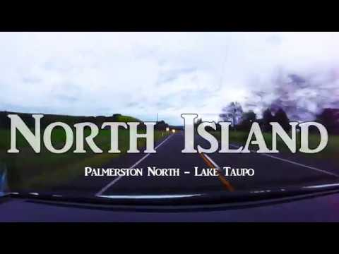 New Zealand Road Trip, Palmerston North - Lake Taupo