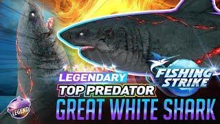 《釣魚大亨 Fishing Strike》 Legendary Top Predator Great White Shark NORTH SEA