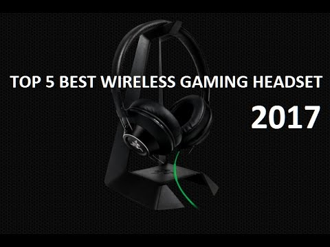 top 5 des meilleur casques gamers sans fil de 2017 youtube. Black Bedroom Furniture Sets. Home Design Ideas