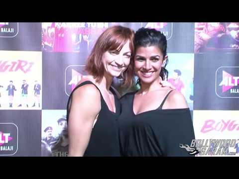 Nimrat Kaur at grand premiere of her web series - The Test Case