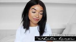 GRWM: White Eyeliner & Affordable Long Bob (Premier Lace Wigs)