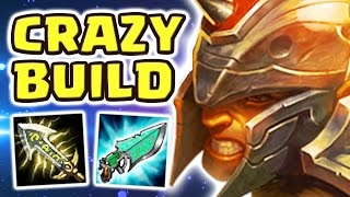 THE DAMAGE IS INSANE | CRAZY CRIT BUILD (25 KILLS XIN ZHAO MID) - Nightblue3