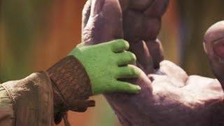 Гамора и Танос. Важные подробности их отношений
