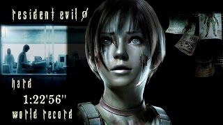 Resident Evil 0 HD Remaster - Speedrun Hard 1:22