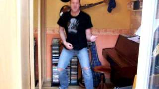 concour air guitar iron maiden black bart blues