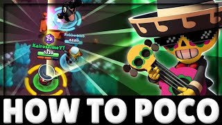 How to Use & Counter Poco! | Carries Gems Like a Boss! | Poco Tech | Brawl Stars Guide