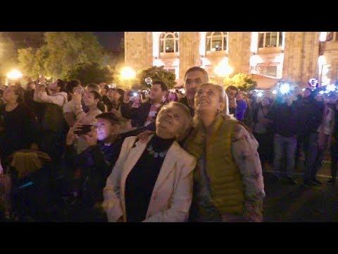 Yerevan,  21.10.18, Su, Video-3, (на рус.), Эребуни 2800.  До пл.Республики