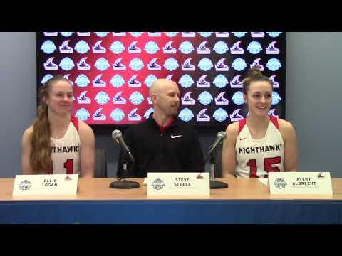 GNAC Basketball Championships - Northwest Nazarene Postgame