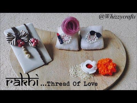 How to make Rakhi at home / Lumba Rakhi Making /DIY Rakhi  Raksha Bandhan  / Handmade Rakhi Design