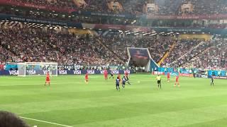 【現地撮影】ロシアW杯 日本対ベルギー 乾の無回転ミドルシュート! ロシアワールドカップ決勝トーナメント russia world cup japan vs belgium