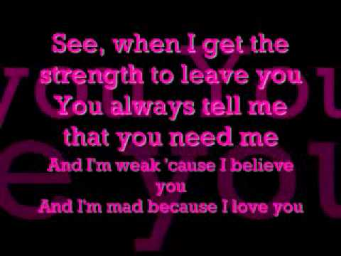 Ashanti- Foolish (LYRICS)