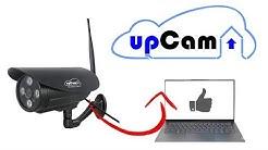 IP Kamera ohne Router direkt mit Laptop verbinden - Beispiel mit upCam